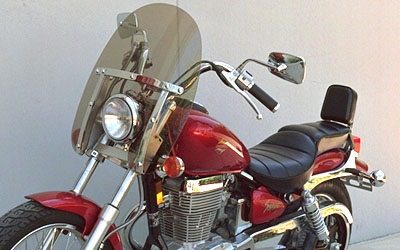 Classic Windshield for Suzuki Savage 650-S40