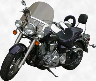 Classic II Windshield for Yamaha Road Star (XV1600-XV1700)