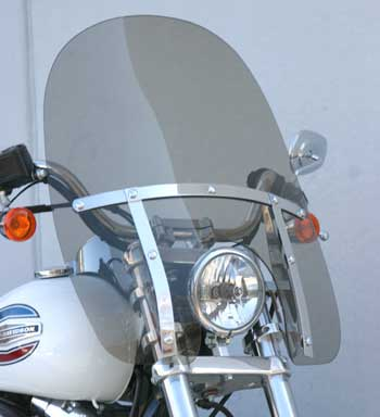 Classic Windshield For Harley-Davidson Dynas (06-)