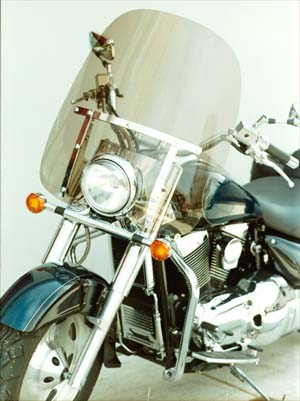 Classic II L Windshield for Suzuki Intruder LC1500