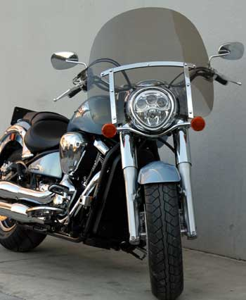 Classic L Windshield for Kawasaki Vulcan 2000