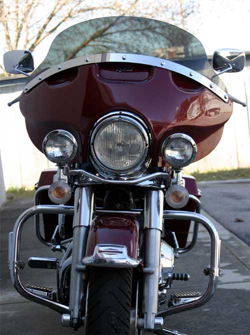 Cruise Tour Detachable Fairing Harley-Davidson Road King
