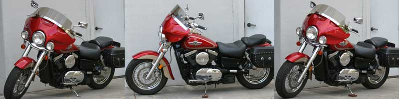 Rifle Cruise™ Tour fairing on Kawasaki Vulcan 1500 FI