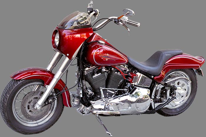 Rifle Roadster Fairing on Harley Davidson Heritage
