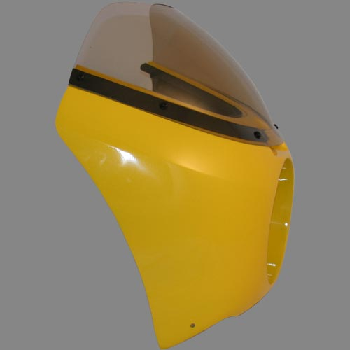 Rifle Roadster Fairing with Bubble Windshield