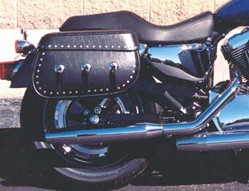 LeatherLyke Traditional Style Saddlebags