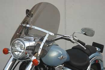 Rifle Classic Windshield on Kawasaki Vulcan Classic 2000 VN2000
