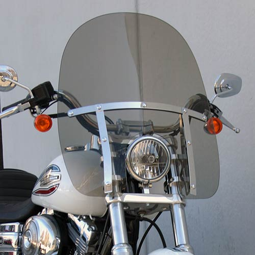 Harley Davidson Windshields >> Classic Windshield For Harley Davidson Dynas 06
