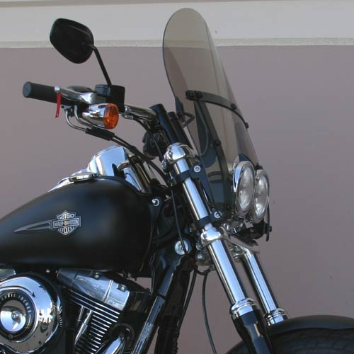 Harley Davidson Windshields >> Classic Windshield For Harley Davidson Fat Bob Fxdf