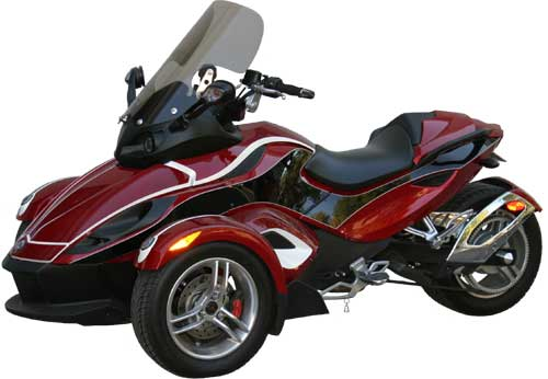 Rifle TOuring WIndshield for BRP Can-Am Spyder