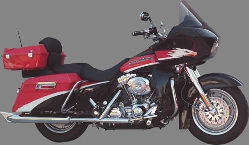 Rifle Replacement Windshield for Harley-Davidson FLTR Road Glide