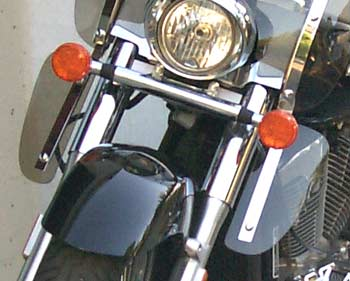 Classic II Lowers for Honda VTX Retro 1300