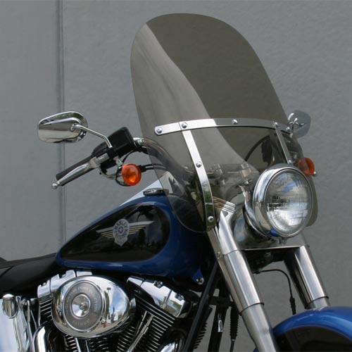 Harley Davidson Windshields >> Classic Ii Windshield H D Fat Boy Special Heritage With Stock Headlight Flstf Flstn Flstc
