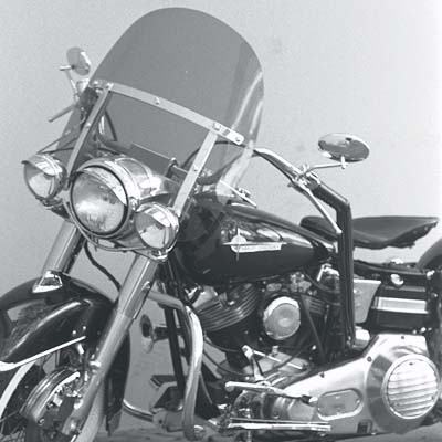 FLH King-Size Replacement Windshield
