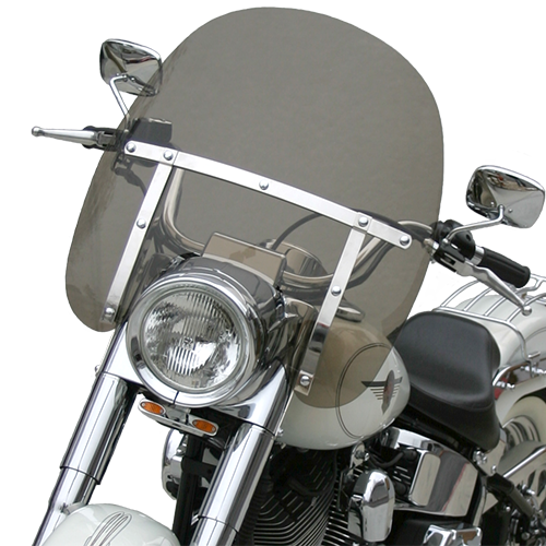 Classic II Windshield H-D Fat Boy-Special-Heritage with Nacelle Headlight Accesory  (FLSTF-FLSTN-FLS