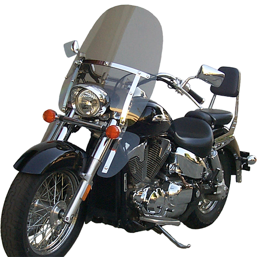 Classic II Windshield for Honda VTX 1300 Retro with Lowers-Medium Bronze Tint