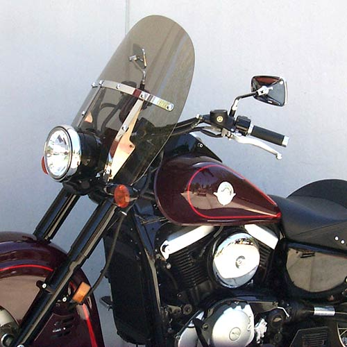 Classic Windshield-Kawasaki Drifter(1500-800) Medium Bronze Tint