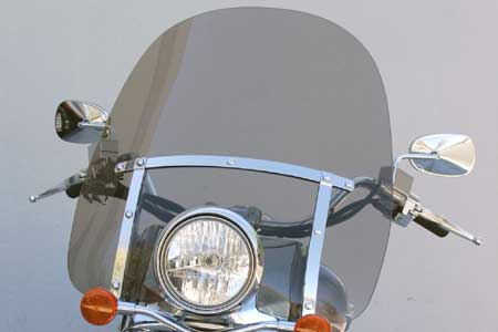 Classic L Windshield for Honda Shadows (VT1100C-750ACE-1100ACE)