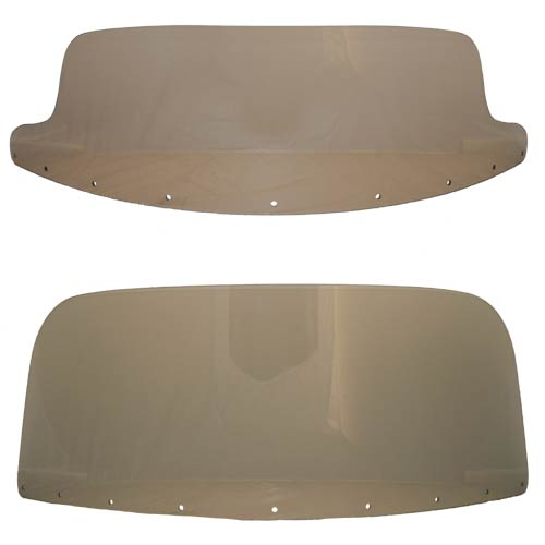 Replacement Windshields for Rifle Cruise Tour Fairing