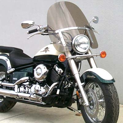 Yamaha V-Star Classic 650-1100 Replacement Windshield
