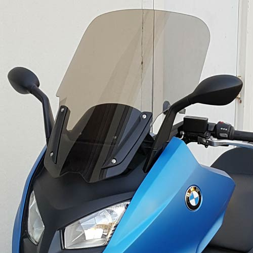 "BMW C600 Sport 650 Sport Replacement Windshield 23"" Medium Bronze Tint"