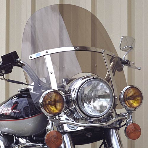 Road King FLHR Replacement Windshield Medium Bronze Tint